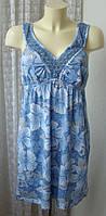 Платье женское летнее сарафан хлопок бренд Mantaray р.46 5368