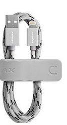 USB Кабель Momax для Iphone 5/5S/6/6+, Silver, сертифицирован