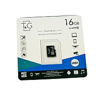 Карта памяти TG 16 GB class 10, микро сд память для телефона, фотоаппарата, sd карта (NS)