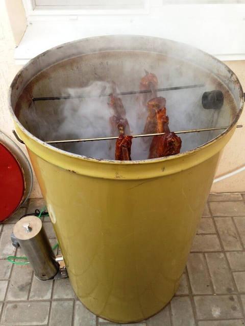 Холодная коптильня за 5 минут с дымогенератором «Копти Сам»