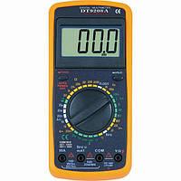 Профессиональный мультиметр DT-9208A тестер вольтметр амперметр, DT9208A  DT 9208
