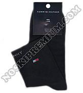 Носки мужские демисезонные спортивные х/б Tommy Hilfiger, 41-45 размер, средние, 10103, фото 2