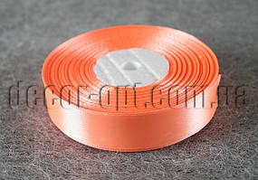 Лента атласная морковная 2,00 см 36ярд код22