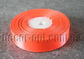 Лента атласная оранжевая 2,00 см 36ярд код25