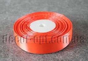 Лента атласная ярко оранжевая 2,00 см 36ярд код23