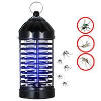 Уничтожитель насекомых Insect killer lamp XL-228 Черный, антимоскитная лампа от комаров (знищувач комах) (NS)