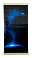 """Электрический настенный обогреватель-картина Super """"Трио Космос"""", пленочный электрообогреватель 600W (NS)"""