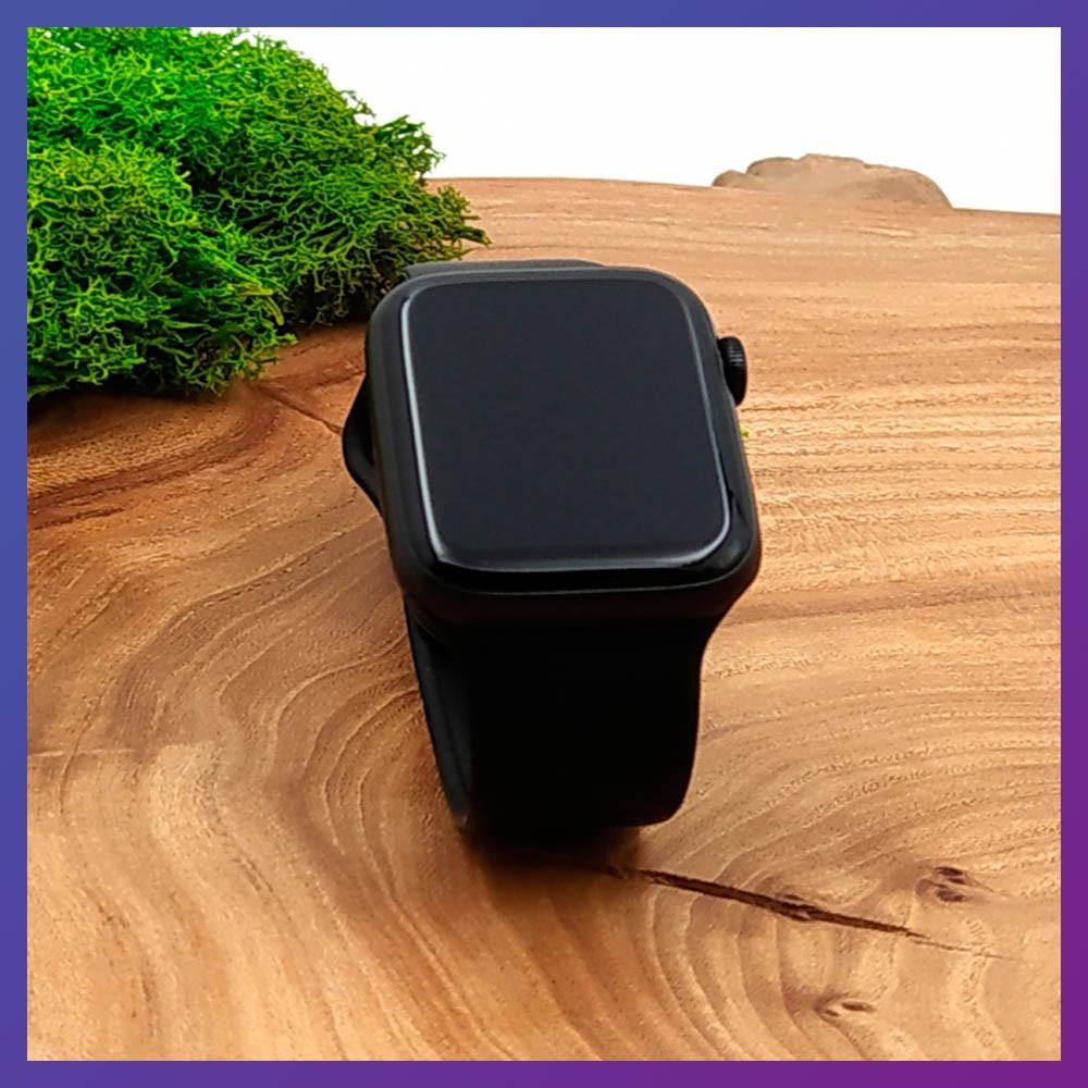 Розумні годинник Смарт годинник Smart Watch W26 ЗА ZK16 з сенсорним екраном і пульсометром чорні + подарунок