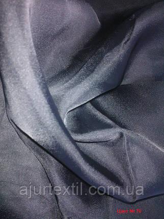 Вуаль однотонный (черный), фото 2