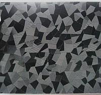 Пленка 4d черная битое стекло с микроканалами