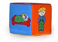 Кубик-погремушка Розумна іграшка Дети (BOC052438)
