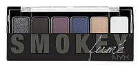 Тени NYX Smokey Shadow Palette
