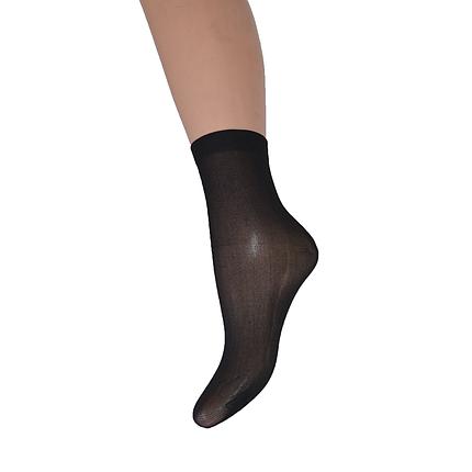 Носки капроновые 30 den Черный (TK607/nero) | 10 пар, фото 2