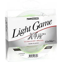 Леска плет. Team Salmo LIGHT GAME Fine Green X4 100/0064