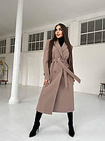 Женские пальто весна/осень оптом - 2120-фи - Стильное деловое женское пальто мужского кроя