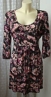 Платье женское вискоза стрейч мини бренд George р.50 5381