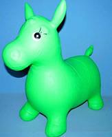 Резиновый прыгун лошадка MS 0001 ПВХ, 1350г, 6 цветов, в кульке