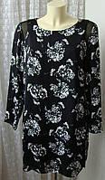 Платье женское элегантное легкое в цветах мини бренд Soon р.48 5383