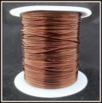 Резинка леска коричневая