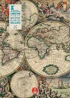 "Тетрадь А4/96 тв.лак ""Ancient map"" YES 150984"