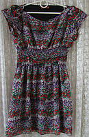 Платье женское легкое летнее мини бренд Influence р.48 5384а