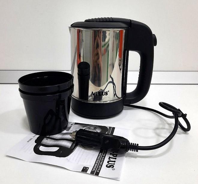 Автомобільний чайник 12В А-Плюс 0.5 л + 2 чашки