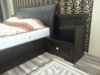 Двухспальня кровать с прикроватными тумбочками, фото 1