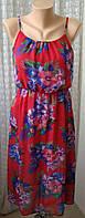 Платье женское сарафан легкий летний бренд New Look р.42 5385