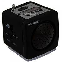МР3 колонка WS-909RL Черная
