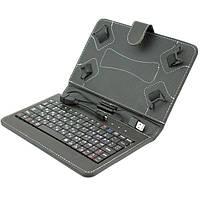 Универсальный чехол-клавиатура 7 дюймов Черный