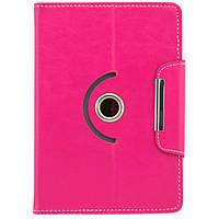 Чехол-книжка трансформер для планшетов 7 дюймов Розовый