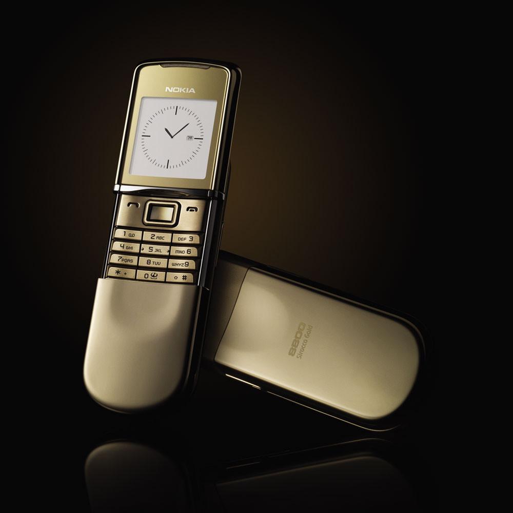Nokia 8800 Sirocco Gold Оригинал