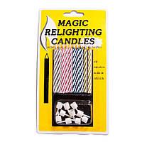 Свечи для торта Магические (уп. 10шт) SVC-1705