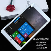 Планшет  Onda V820w CH 2/32Гб Z8300 1.84GHz Win10 2/32Gb белый