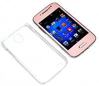 "Samsung S4 mini Pink 4"" 2 sim Android+Чехол Копия"