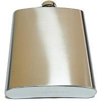 Фляга металлическая (глянец/чистая)18oz (9196)