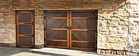 Ворота секционные гаражные Премиум