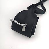 Зажим для галстука Топор серебристого цвета