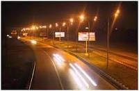 Монтаж наружного освещения улиц