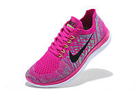 Женские кроссовки Nike Free 4.0 Flyknit pink