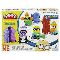 Пластилин Плей до Переполох Миньонов Play Doh B0498 Play-Doh Makin' Mayhem Set Featuring Despicable Me Minions