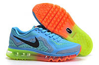 Женские кроссовки Nike Air Max 2014 Blue/Green/Orange