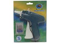 Игольчатый этикет-пистолет с набором иголок 5шт. для фиксации бирок и этикеток