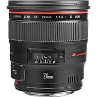 Объектив Canon EF 24mm f/1.4L USM II (в наличии на складе)