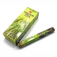 Аромапалочки Зеленый чай (Green Tea) благовоние для дома и медитации hem