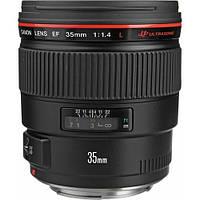 Объектив Canon EF 35mm f/1.4L USM (на складе)
