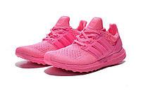 Кроссовки женские Adidas Ultra Boostрозовые