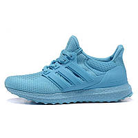 Кроссовки женские Adidas Ultra Boost голубые