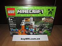 Лего Майнкрафт 21113 Пещера LEGO Minecraft The Cave 21113
