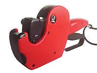 Итальянский красный этикет-пистолет для наклеивания и печати ценников,этикеток